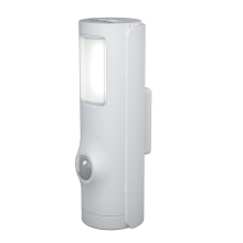 Osram - LED-Treppenlicht mit Sensor NIGHTLUX LED/0,35W/3xAAA weiß IP54