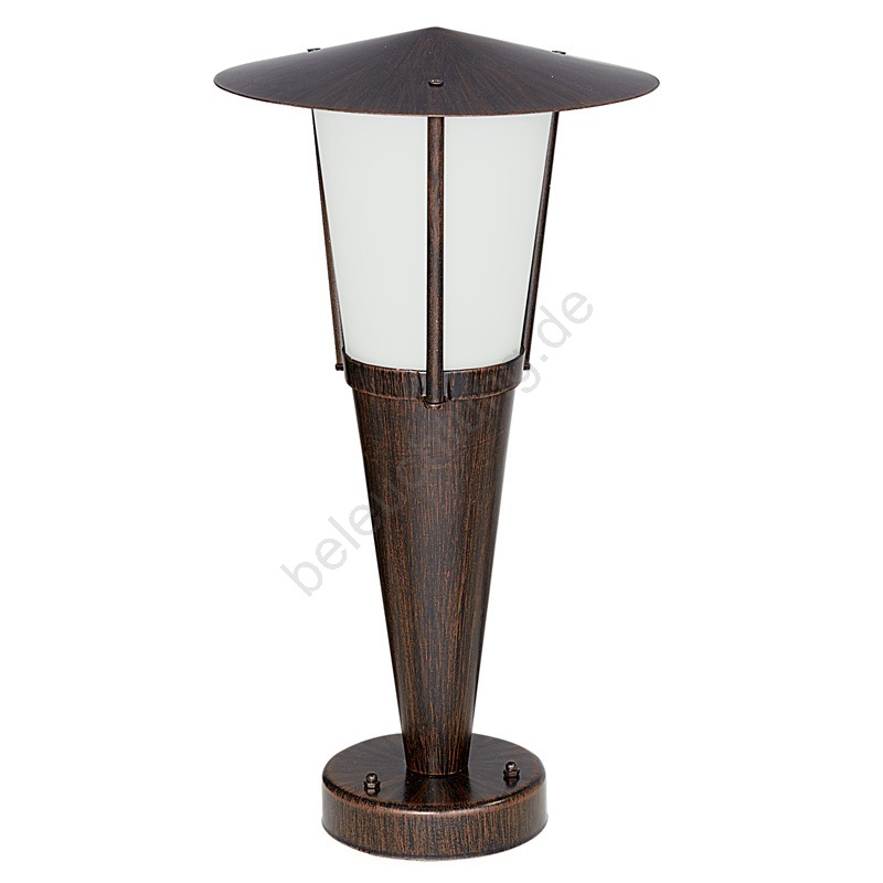 outdoor lampe san marino 1xe27 60w antik brau weiss beleuchtung. Black Bedroom Furniture Sets. Home Design Ideas