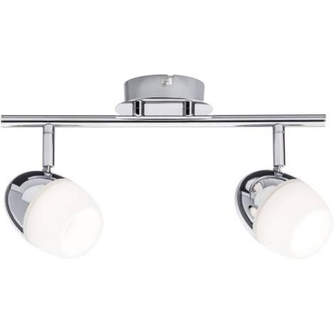 Paulmann 60329 - 2xLED/4,2W Spotlight EGG 230V