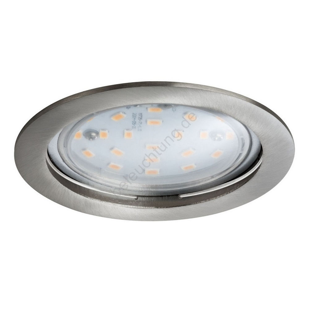 Paulmann 92782 - LED/14W IP44 Dimmbare Badezimmer Einbauleuchte COIN ...