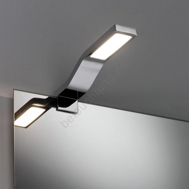 Paulmann 99100 Led 3 2w Ip44 Badezimmer Spiegelleuchte Galeria 230v Beleuchtung De
