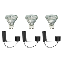 Paulmann 99755 - SET 3x 2Easy EBL Basis LED Leuchtenzubehör 3xGU10/1W/230V