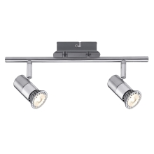 Paulmann - Nice Price 60191 - LED Spotlight 2xGU10/3,5W/230V