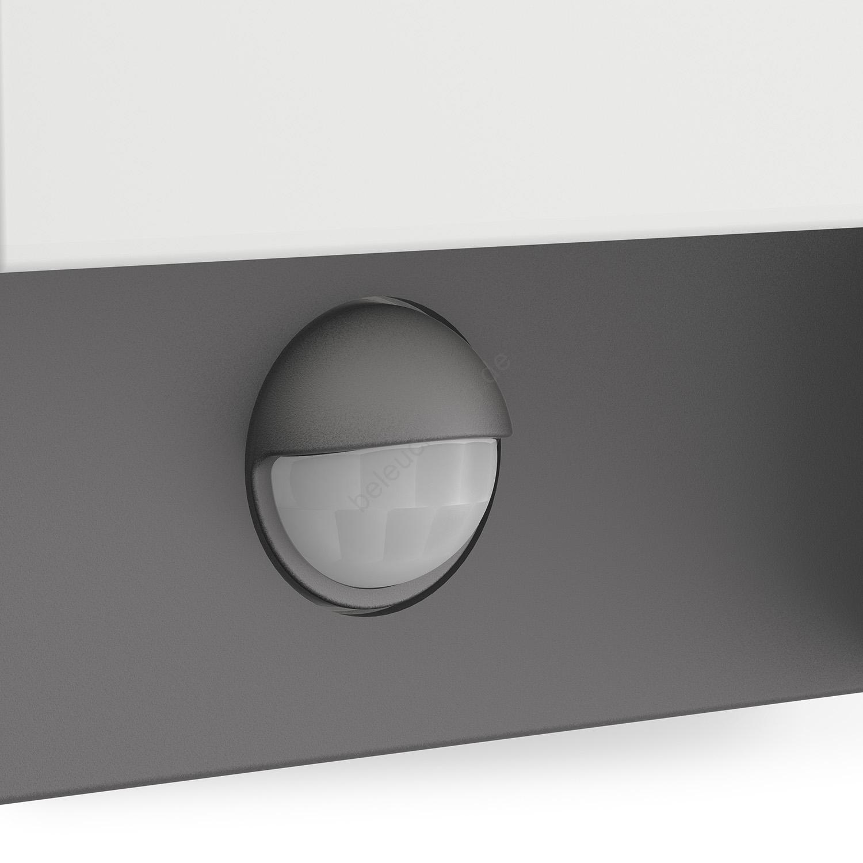 philips 16461 93 p3 led au enleuchte mit sensor mygarden arbour 1xled 6w 230v. Black Bedroom Furniture Sets. Home Design Ideas