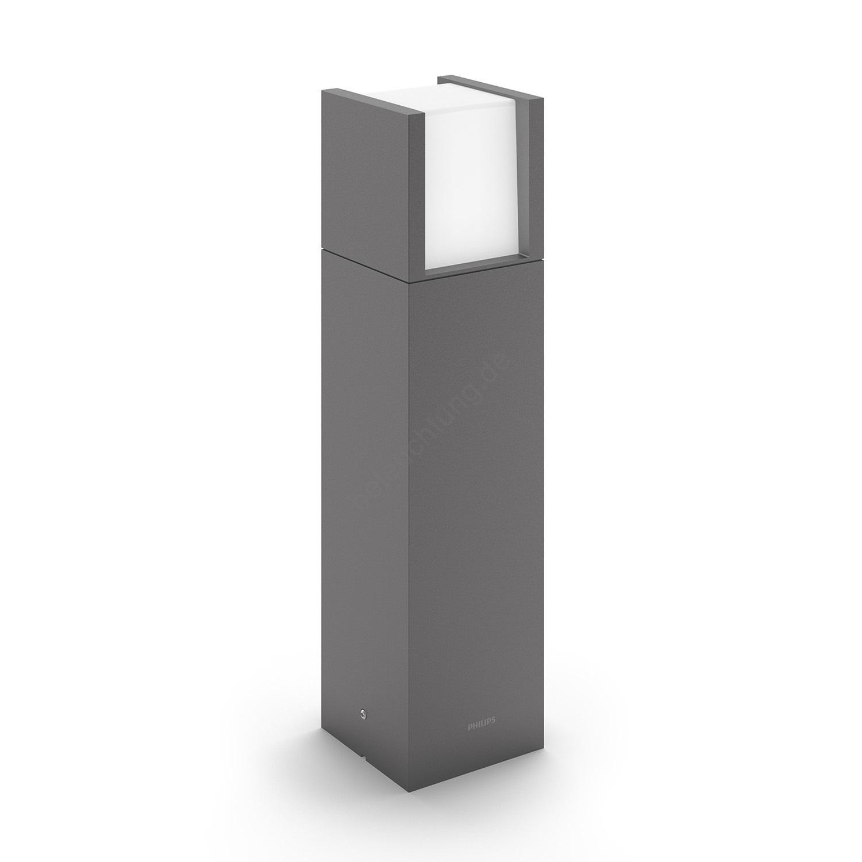 philips 16462 93 p3 led au enleuchte mygarden arbour 1xled 6w 230v. Black Bedroom Furniture Sets. Home Design Ideas