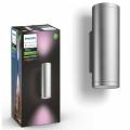 Philips 17463/47/P7 - LED RGB Außenwandleuchte HUE APPEAR 2xLED/8W/230V IP44