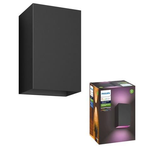 Philips 17464/30/P7 - LED-RGB-Außenleuchte HUE RESONATE 2xLED/8W/230V IP44