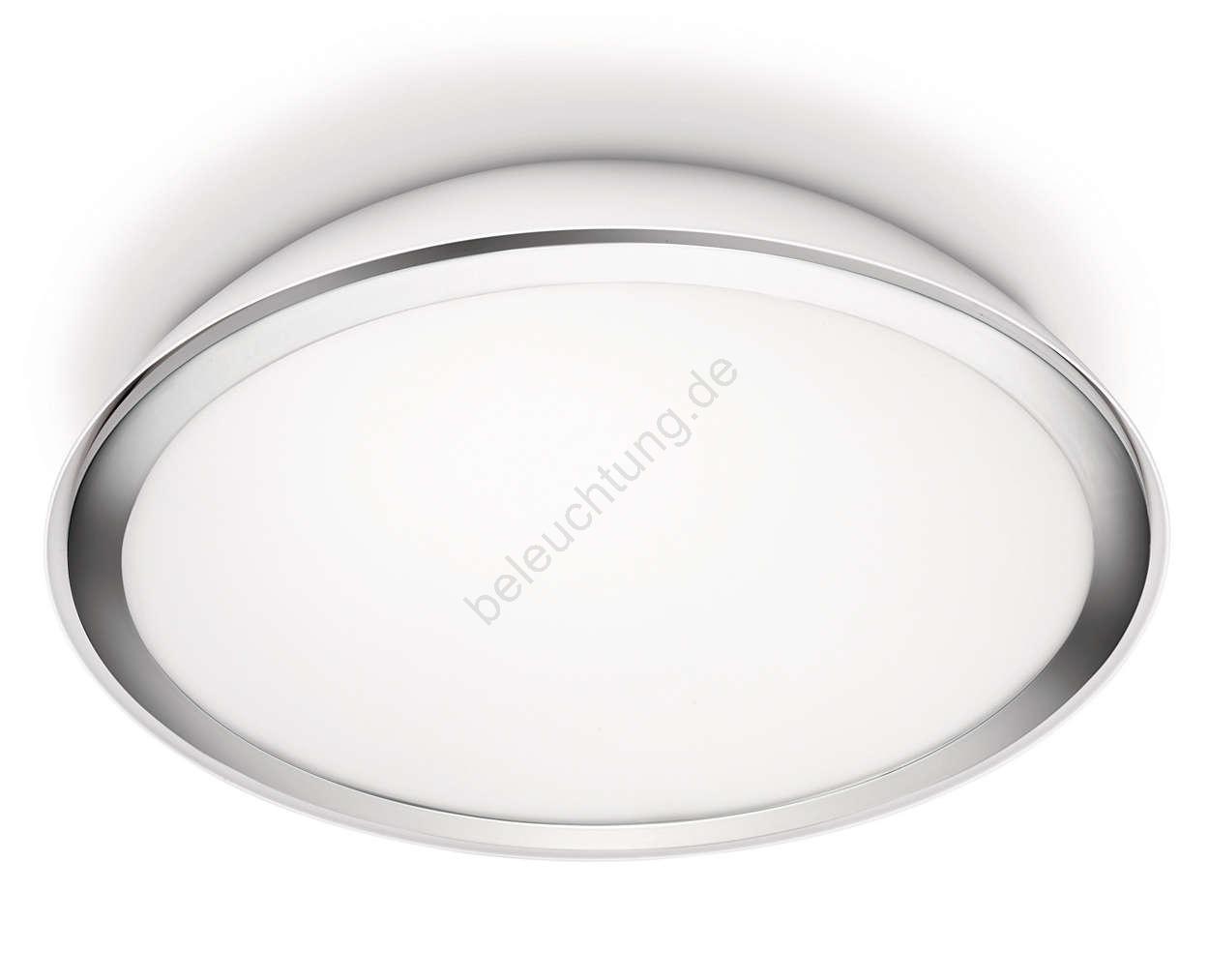 philips 32063 31 16 led deckenleuchte bad mybathroom cool 3xled 4w 230v beleuchtung. Black Bedroom Furniture Sets. Home Design Ideas