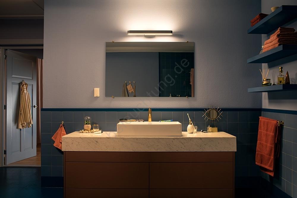 Philips 34351/11/P7 - LED Badezimmer Spiegelbeleuchtung HUE ADORE ...