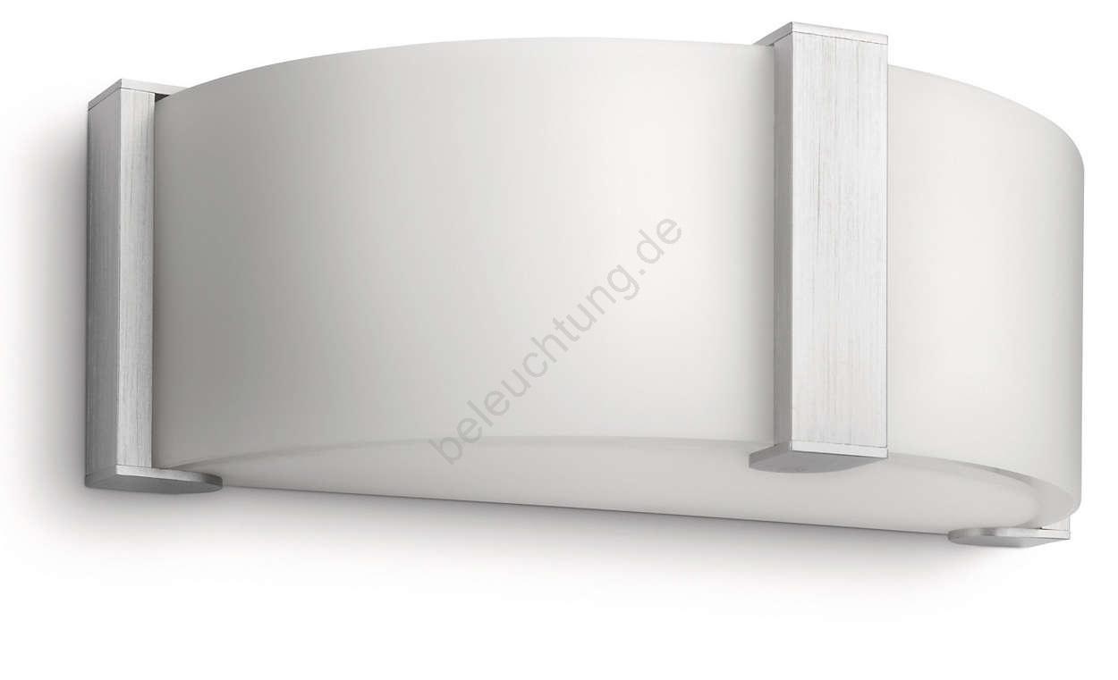 philips 37237 48 16 wandleuchte instyle montoya 1xe27 60w 230v. Black Bedroom Furniture Sets. Home Design Ideas