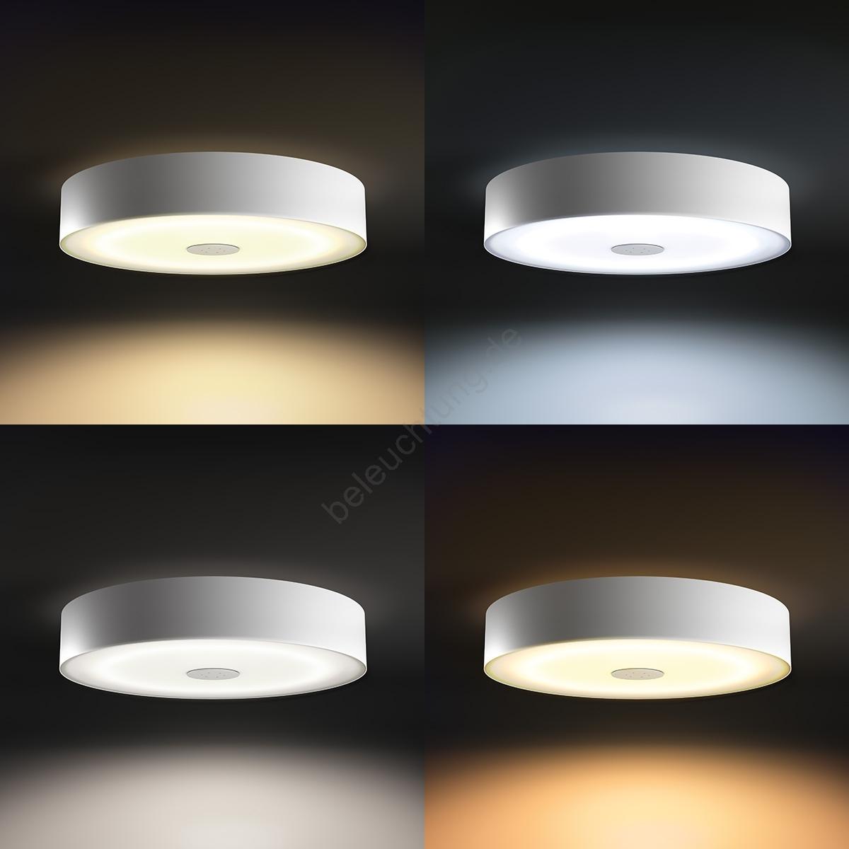 philips 40340 31 p7 led deckenleuchte fair hue led 39w 230v. Black Bedroom Furniture Sets. Home Design Ideas