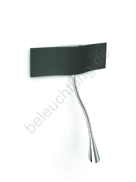 philips 45572 93 16 wandleuchte instyle 2xled 2 5w schwarz. Black Bedroom Furniture Sets. Home Design Ideas