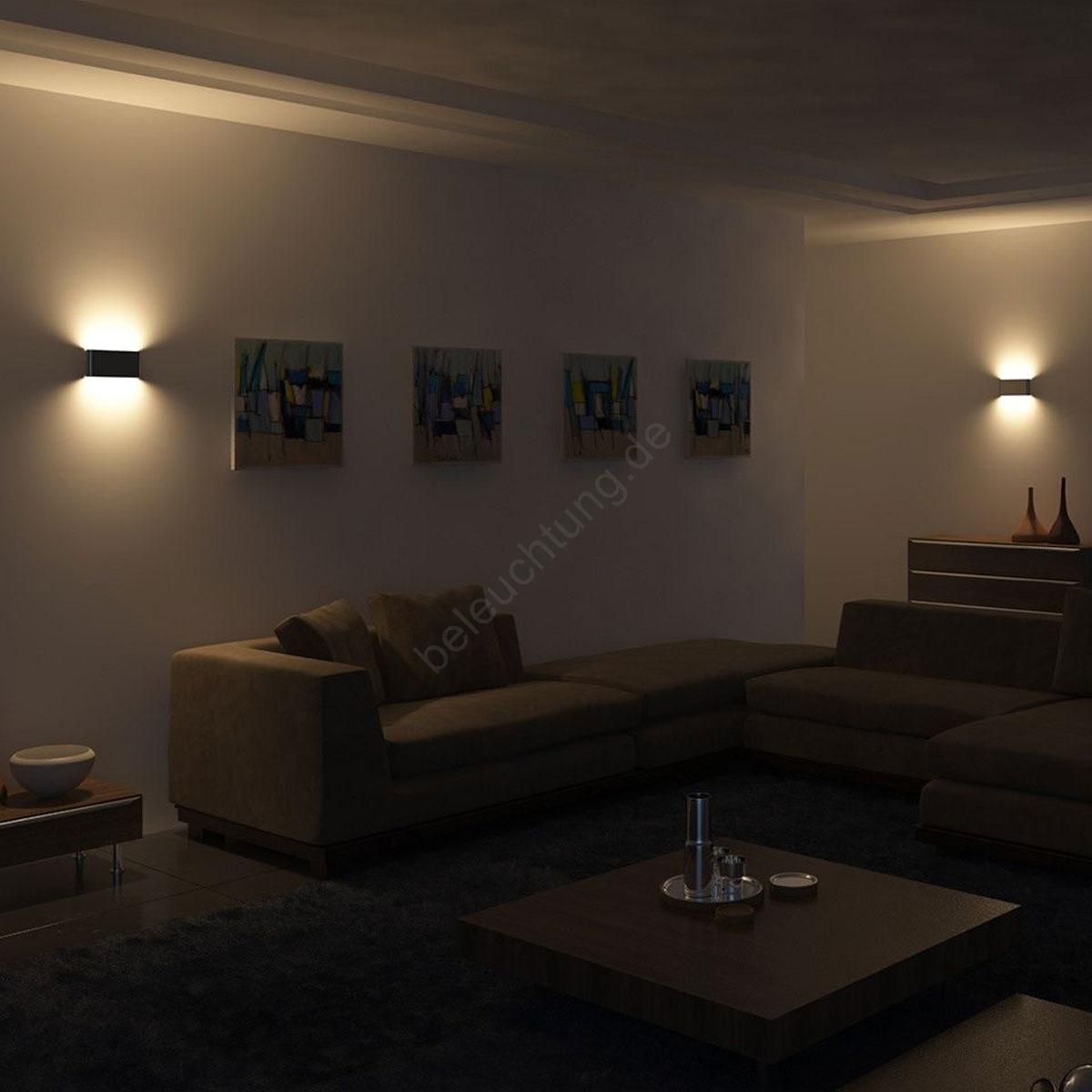 philips 45591 17 16 led wandleuchte myliving galax 4xled 2 5w 230v. Black Bedroom Furniture Sets. Home Design Ideas