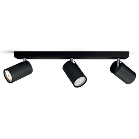 Philips 50593/30/PN - Spotlight MYLIVING KOSIPO 3xGU10/5,5W/230V