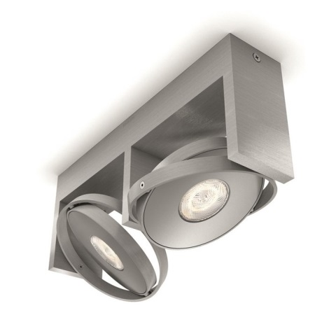 Philips 53152/48/P0 - LED-Spot PARTICON 2xLED/4,5W/230V