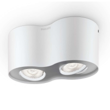Philips 53302/31/16 - LED Dimmbare spotlight PHASE 2xLED/4,5W/230V