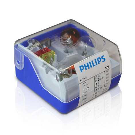 Ersatzglühbirnen Für Weihnachtsbeleuchtung.Philips 55005skkm Set Ersatzglühbirnen H4 12v
