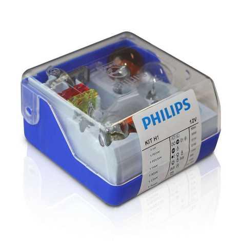 Ersatzglühlampen Für Weihnachtsbeleuchtung.Philips 55008skkm Set Ersatzglühlampen H1 12v