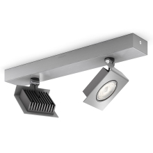 Philips 56432/48/16 - LED Dimmbare Spotlight METRYS 2xLED/6W/230V
