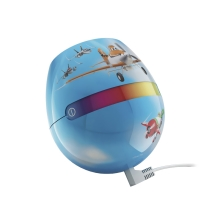 Philips 71704/53/16 - Dekoration Kinder- LED Leuchte LIVINGCOLORS MICRO DISNEY PLANES 1xRGB LED/4,7W/230V