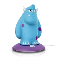 Philips 71705/83/16 -  LED kinderlampe DISNEY SOFTPAL SULLEY LED/0,18W/230V