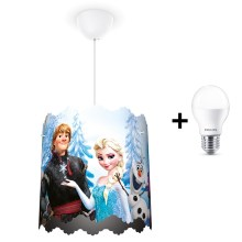 Philips 71751/01/16 - LED Kinder-Kronleuchter DISNEY FROZEN 1xE27/9W/230V