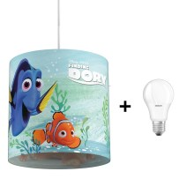 Philips 71751/90/16 - LED Kinderkronleuchter DISNEY FINDING DORY 1xE27/8,5W/230V
