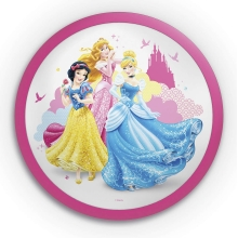 Philips 71760/28/16 - Kinder LED Wandleuchte DISNEY PRINCESS 1xLED/4W/230V