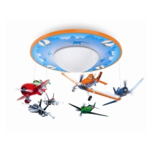 Philips 71762/53/16 - Kinder LED-Deckenleuchte DISNEY PLANES 1xLED/4,5W/230V