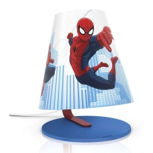 Philips 71764/40/26 - LED Kinder Tischlampe SPIDER-MAN LED/3W/230V