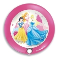 Philips 71765/28/16 - LED Kinderleuchte mit Sensor DISNEY PRINCESS 1xLED/0,06W/2xAAA