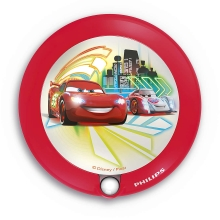 Philips 71765/32/16 - LED Kinderleuchte mit Sensor DISNEY CARS 1xLED/0,06W/2xAAA