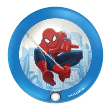 Philips 71765/40/16 - Kinder LED Orientierungsleuchte DISNEY SPIDER-MAN 1xLED/0,06W/3V