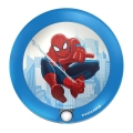 Philips 71765/40/16 - LED Kinderleuchte mit Sensor DISNEY SPIDER-MAN 1xLED/0,06W/2xAAA
