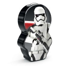 Philips 71767/97/P0 - LED Kinder Lampe STAR WARS STORMTROOPER 1xLED/0,3W