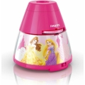 Philips 71769/28/16 - Kinderlampe und Projektor DISNEY PRINCESS LED/0,1W/3xAA