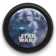 Philips 71924/30/P0 - Kinderleuchte DISNEY STAR WARS STORMTROOPER LED/0,3W/2xAAA