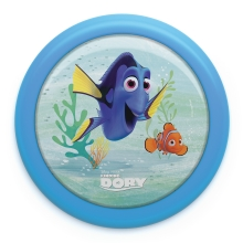 Philips 71924/35/P0 - Kinderleuchte DISNEY FINDING DORY LED/0,3W/2xAAA