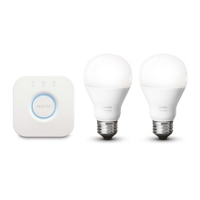 Philips 8718696449554 - Basic Set HUE STARTER KIT 2xE27/9,5W