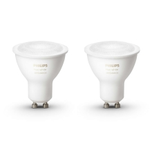 Philips 8718696671184 - SET 2x LED Glühbirne dimmbar  HUE 2xGU10/5,5W
