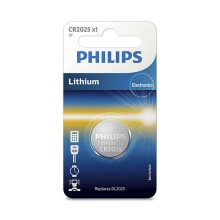 Philips CR2025/01B - Lithium Batterie CR2025 MINICELLS 3V