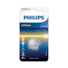 Philips CR2032/01B - Lithium Knopfzelle CR2032 MINICELLS 3V