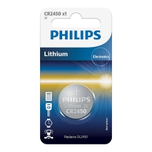 Philips CR2450/10B - Lithium Knopfzelle CR2450 MINICELLS 3V