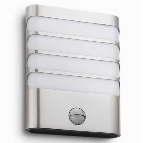 Philips - LED Außenbeleuchtung mit Sensor 1xLED/3W