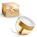 Philips - LED RGB Tischlampe LED/10W/230V golden