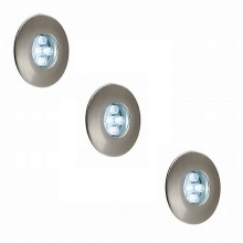 Philips Massive 17099/17/10 - Set 3xLED downlighters 3xLED/0,6 W/12V