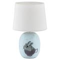 Rabalux - Tischlampe für Kinder 1xE14/40W/230V blau