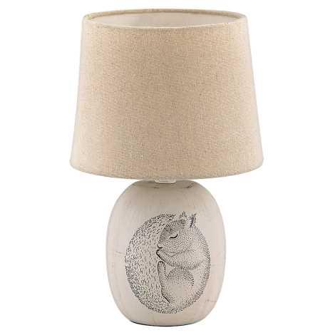 Rabalux - Tischlampe für Kinder 1xE14/40W/230V braun