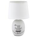 Rabalux - Tischlampe für Kinder 1xE14/40W/230V grau