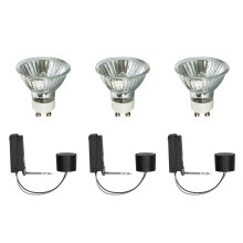 SET 3x Dimmbare Halogen-Glühlampe 2EASY BASIC SET 3xGU10/35W/230V - Paulmann 99754